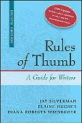 Rules of Thumb 2009 Documentation Update