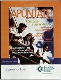 Selected Materials From !Apuntate!, Espanol Introductorio. (Coconino Community College Spani...