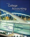 College Accounting: A Contemporary Approach with Connect Plus