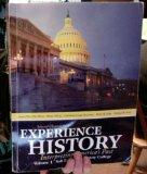 Selected Chapters From Experience History Interpreting America's Past Volume 1 Salt Lake Com...