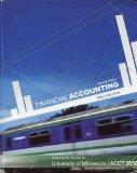 Financial Accounting: Customized Version of Minnesota / ACCT 2050
