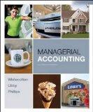 Managerial Accounting (Managerial Accounting Portland State University BA 213 Edition)