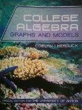 College Algebra Graphs and Models