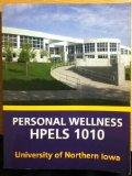 Personal Wellness Hpels 1010 University of Northern Iowa