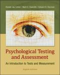 Looseleaf for Psychological Testing and Assessment
