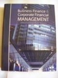 Business Finance & Corporate Financial Management (California State University, San Bernardino)