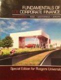 Fundamentals of Corporate Finance, Alternate Edition, Tenth Edition