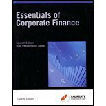 Essentials of Corporate Business Finance 7th Ed. - Florida Gulf Coast University (Business F...