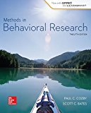 Methods in Behavioral Research (B&B Psychology)
