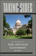 Taking Sides: Clashing Views in State and Local Government