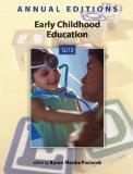 Annual Editions: Early Childhood Education 12/13