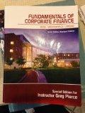 Fundamentals of Corporate Finance (Special Edition Penn State)