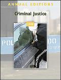 Annual Editions: Criminal Justice 09/10