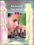 Annual Editions: Adolescent Psychology, 7/e