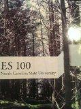 ES 100: Environmental Science (Custom NC State University Edition)
