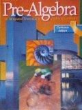 Pre-Algebra: An Integrated Transition to Algebra & Geometry (California Edition)