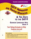 Teacher's Annotated Edition (The Princeton Review SAT-9* Preparation and Practice Workbook &...