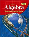 Algebra Concepts and Applications