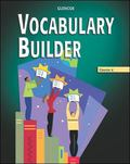 Glencoe Vocabulary Builder Course 4