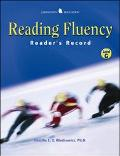 Fluency Readers Record Level J