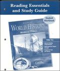 Glencoe World History Modern Times, Reading Essentials And Study Guide