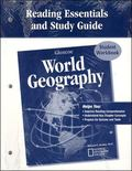 Glencoe World Geography, Reading Essentials And Study Guide