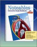Glencoe Algebra 2, Noteables Interactive Study Notebook With Foldables