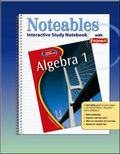 Algebra 1 Noteables with Foldables, Interactive Study Notebook