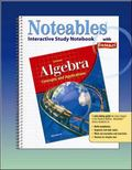 Algebras Concepts And Applications, Noteables Interactive Study Notebook With Foldables