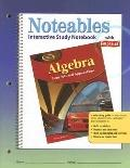 Algebra Concepts And Applications, Noteables