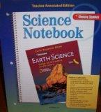 Science Notebook (Earth Science: Geology, the Environment, and the Universe, Glencoe Califor...