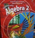 California Algebra 2: Concepts, Skills, and Problem Solving (Teacher Wraparound Edition)
