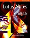 Lotus Notes 4: The Complete Reference