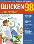 Quicken 98 for Busy People - Peter Weverka - Paperback