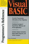 Visual Basic Programmer's Reference