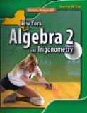Algebra 2 and Trigonometry New York TEACHER EDITION (Glencoe McGraw-Hill)