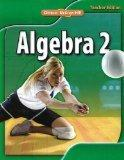 Glencoe Algebra 2, Indiana Teacher Edition