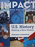 Imapct California Social Studies U.S. History making A New Nation Grade 5