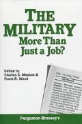 Military:more Than Just a Job?