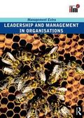Management and Leadership in Organizations Management Extra