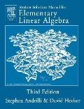 Student Solutions Manual to Accompany Elementary Linear Algebra