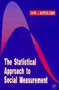 The Statistical Approach to Social Measurement