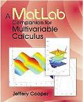 Matlab Companion for Multivariable Calculus