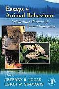 Essays in Animal Behaviour Celebrating 50 Years of Animal Behaviour