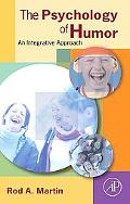 Psychology of Humor An Integrative Approach