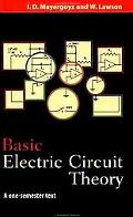Basic Electric Circuit Theory A One-Semester Text