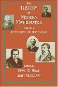 History of Modern Mathematics Institutions and Applications  Proceedings of the Symposium on...