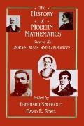 History of Modern Mathematics Images, Ideas, and Communities