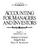 Accounting for Managers and Investors