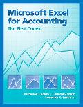Microsoft Excel for Accounting The First Course